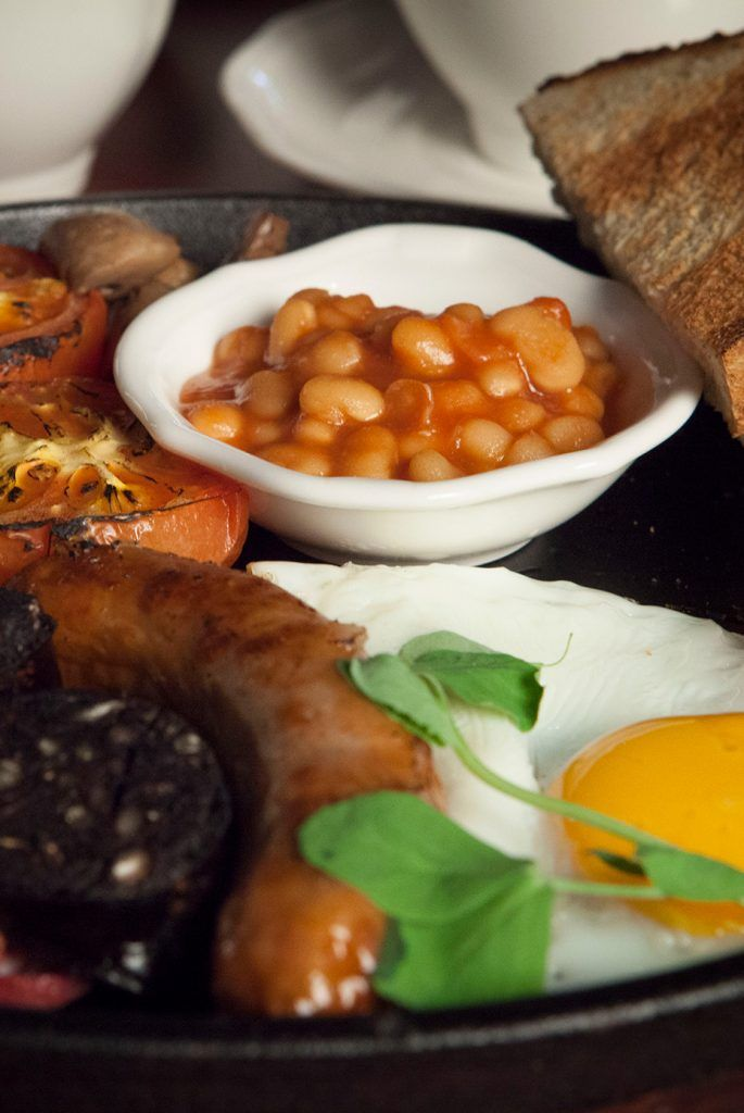A picture of our best welsh breakfast near Llangollen, Wrexham and Chester